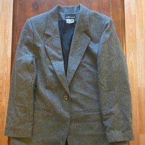 Sag Harbor Wool Blazer Coat Jacket